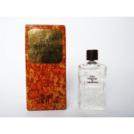 Miniature de parfum Eau Fraîche de Léonard