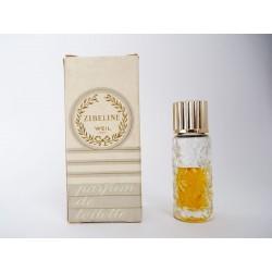 Ancienne miniature de parfum Zibeline de Weil