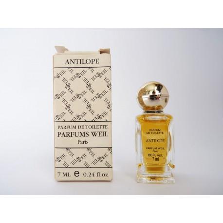 Miniature de parfum Antilope de Weil