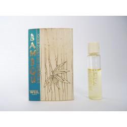 Ancien échantillon de parfum Bambou de Weil