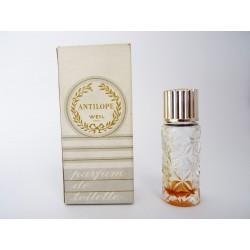 Ancienne miniature de parfum Antilope de Weil