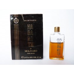 Ancienne miniature de parfum Habanita de Molinard