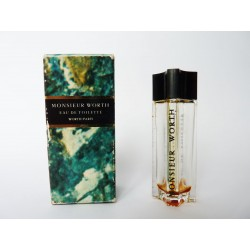 Miniature de parfum Monsieur Worth