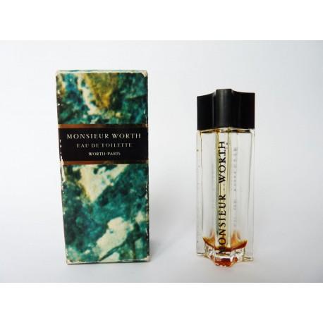 Miniature de parfum Monsieur Worth