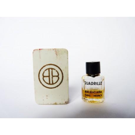 Miniature ancienne Quadrille de Balenciaga
