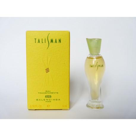 Miniature de parfum Talisman de Balenciaga