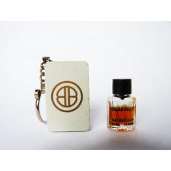 Miniature de parfum porte clefs Quadrille de Balenciaga