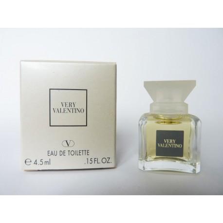 Miniature de parfum Very Valentino