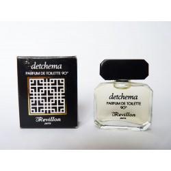 Ancienne miniature de parfum Detchema de Révillon