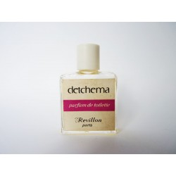 Ancienne miniature de parfum Detchema de Revillon