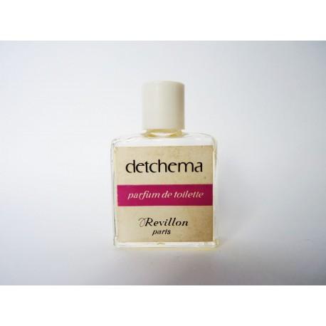 Ancienne miniature de parfum Detchema de Revillon
