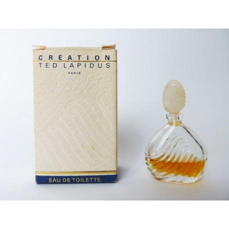 Miniature de parfum Création de Ted Lapidus
