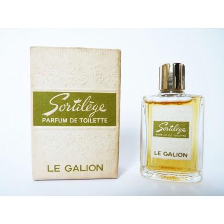 Ancienne miniature de parfum Sortilège de Le Galion