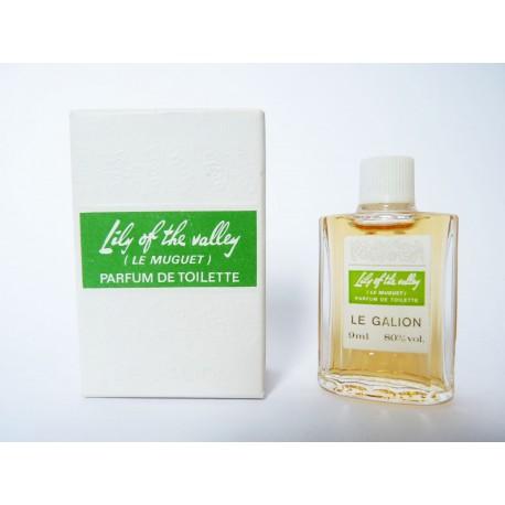 Ancienne miniature de parfum Lily of the Valley de Le Galion