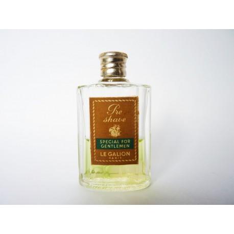 Ancienne miniature Pre Shave Special for Gentlemen de Le Galion