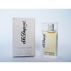 Miniature de parfum Essence Pure de S.T. Dupont