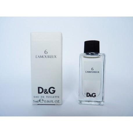Miniature de parfum 6 L'Amoureux de Dolce & Gabbana