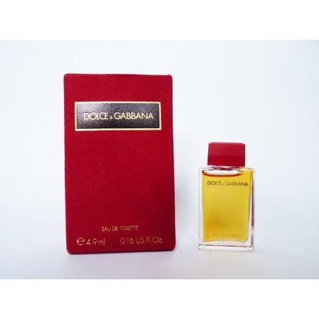 Miniature de parfum Dolce & Gabbana