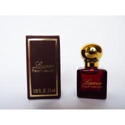 Miniature de parfum Lauren de Ralph Lauren