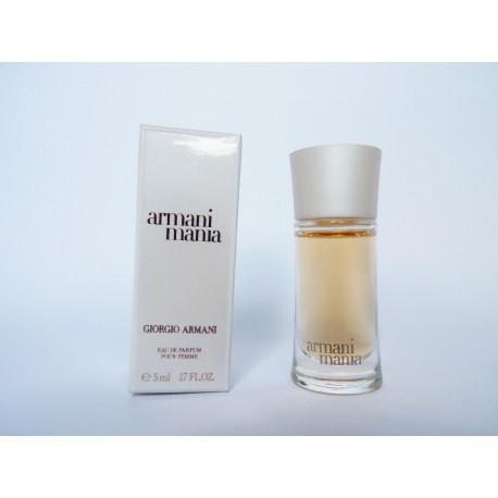 Miniature de parfum Mania de Giorgio Armani