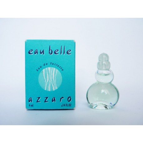 Miniature de parfum Eau Belle de Azzaro