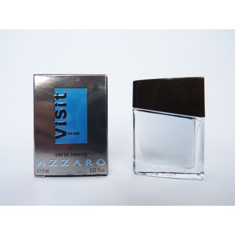 Miniature de parfum Visit for men de Azzaro
