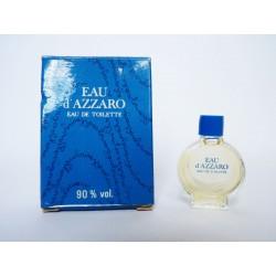 Miniature de parfum Eau d'Azzaro