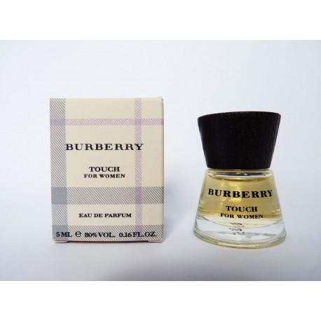 Miniature de parfum Touch for women de Burberry