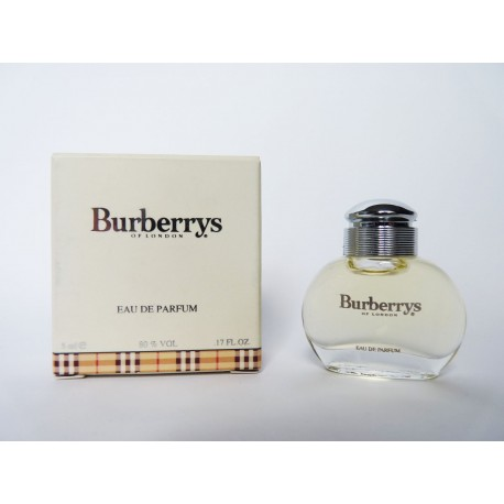 Miniature de parfum Burberrys of London
