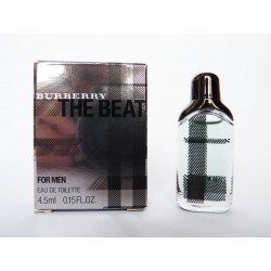 Miniature de parfum The Beat for Men de Burberry