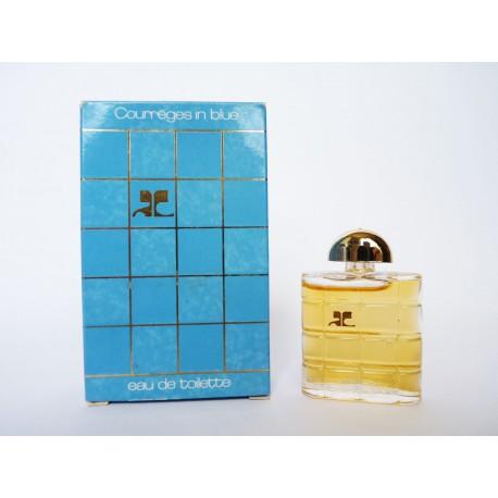 Miniature de parfum Courrèges in Blue