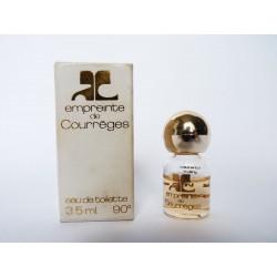 Miniature de parfum Empreinte de Courrèges