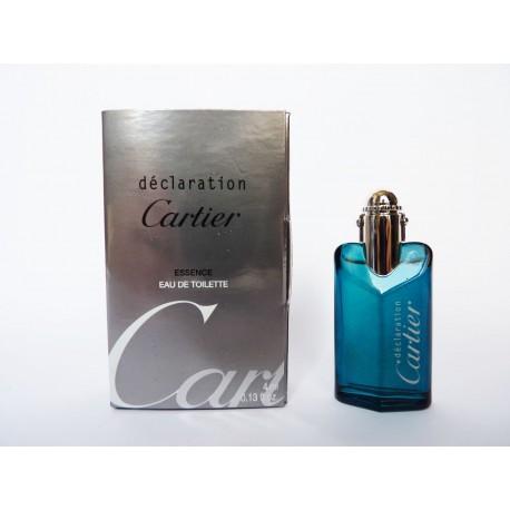 Miniature de parfum Déclaration de Cartier