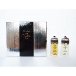 Coffret de 2 miniatures de parfum Pasha de Cartier