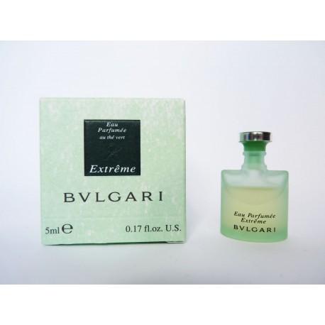 Miniature Eau Parfumée Extrême au Thé Vert de Bulgari