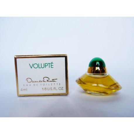 Miniature de parfum Volupté de Oscar de la Renta