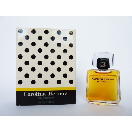 Miniature de parfum Carolina Herrera
