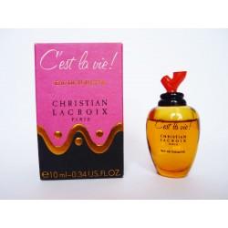 Miniature de parfum C'est la vie! de Christian Lacroix