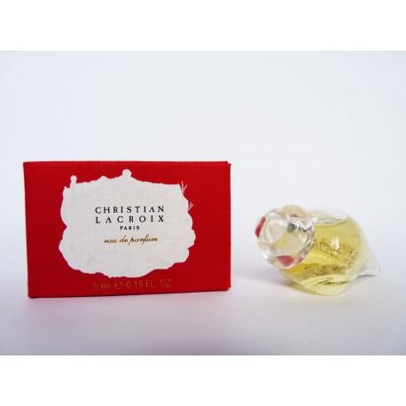 Miniature de parfum Christian Lacroix
