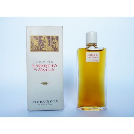 Ancienne miniature de parfum Embrujo de Sevilla de Myrurgia
