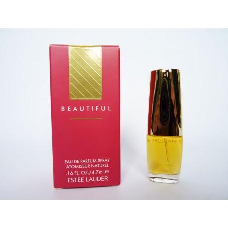 Miniature de parfum Beautiful de Estée Lauder