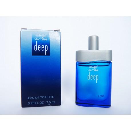 Miniature de parfum Cool Water Deep de Davidoff