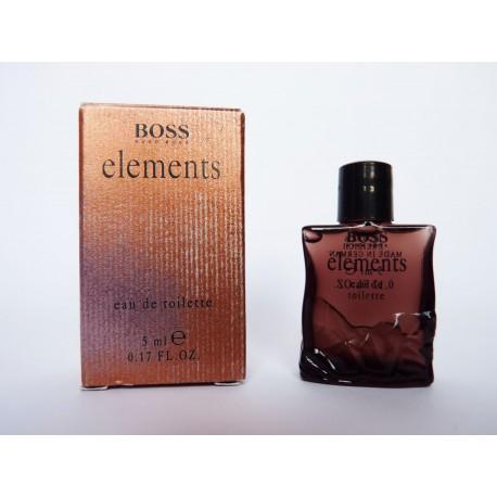 Miniature de parfum Elements de Hugo Boss
