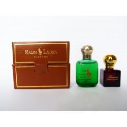 Coffret de 2 miniatures de parfum Ralph Lauren