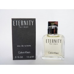 Miniature de parfum Eternity for Men de Calvin Klein