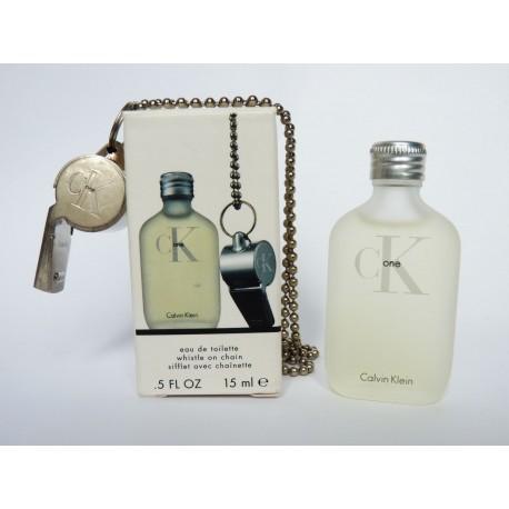 Miniature de parfum CK One de Calvin Klein