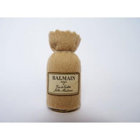 Ancienne miniature Jolie Madame de Pierre Balmain
