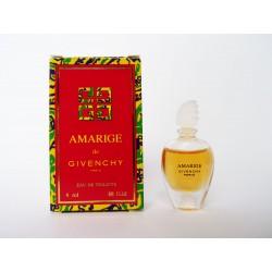 Miniature de parfum Amarige de Givenchy