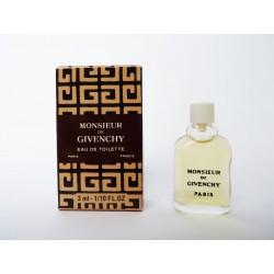 Miniature de parfum Monsieur de Givenchy