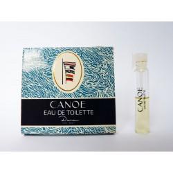 Ancien échantillon de parfum Canoé de Dana